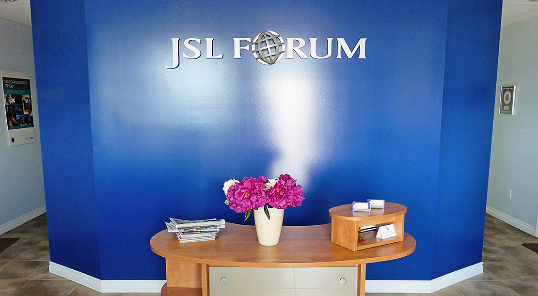 desk and office at JSL