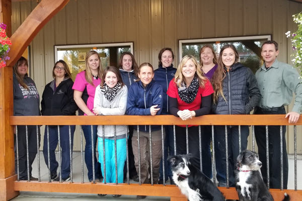 Cranbrook Staff at Tanglefoot Veterinary Services