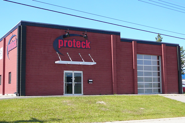 Exterior building for Proteck
