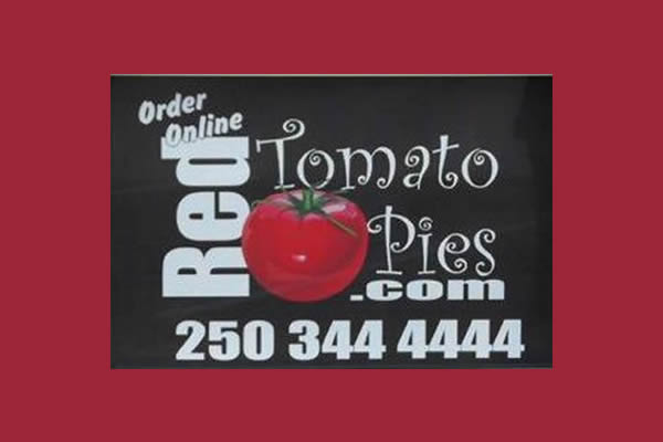 order online poster advertising for Red Tomato Pies
