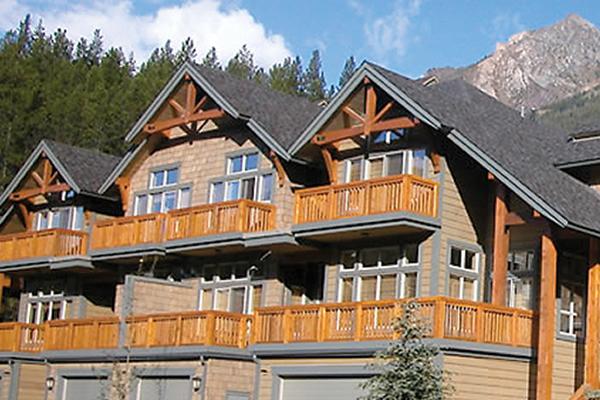 Showhome built in a mountainous terrain