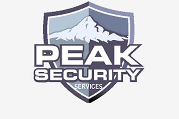 peak security poster