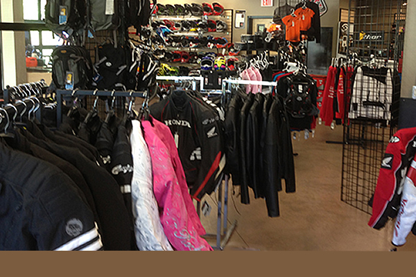 Men's and ladies apparel at Main Jet Motorsports