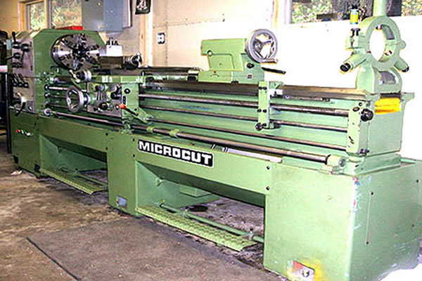 green coloured microcut machine