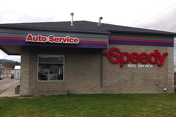 exterior building for Speedy Brake, Muffler & Wheel