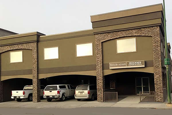 Exterior building for Rockies Notary and Legal
