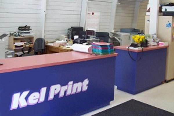 interior office at KelPrint