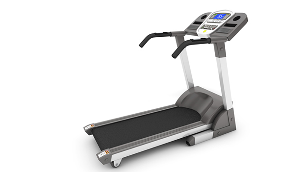 upright electronic treadmill