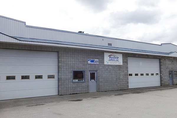 exterior building for Rossland Collision