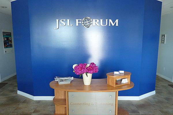 reception area at J S L Forum