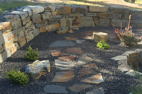 Westrim Contracting Landscape featuring a patio with rocks