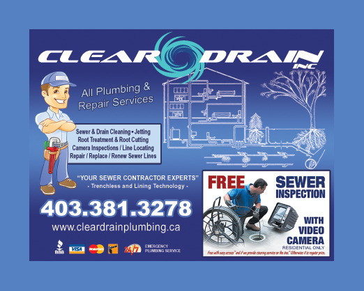company ad for Clean Drain