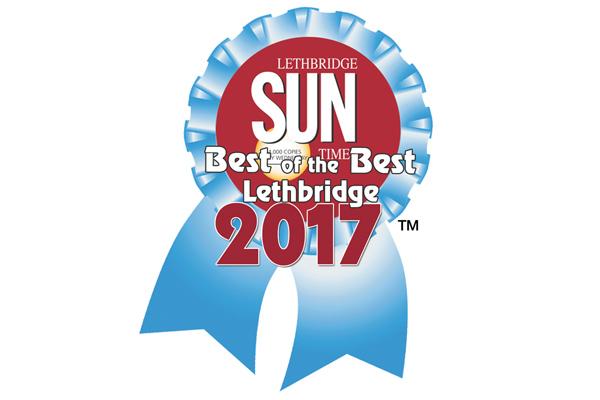 logo for Lethbridge's Best of the Best Award