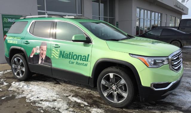 national car truck