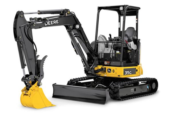 35G John Deer Excavator